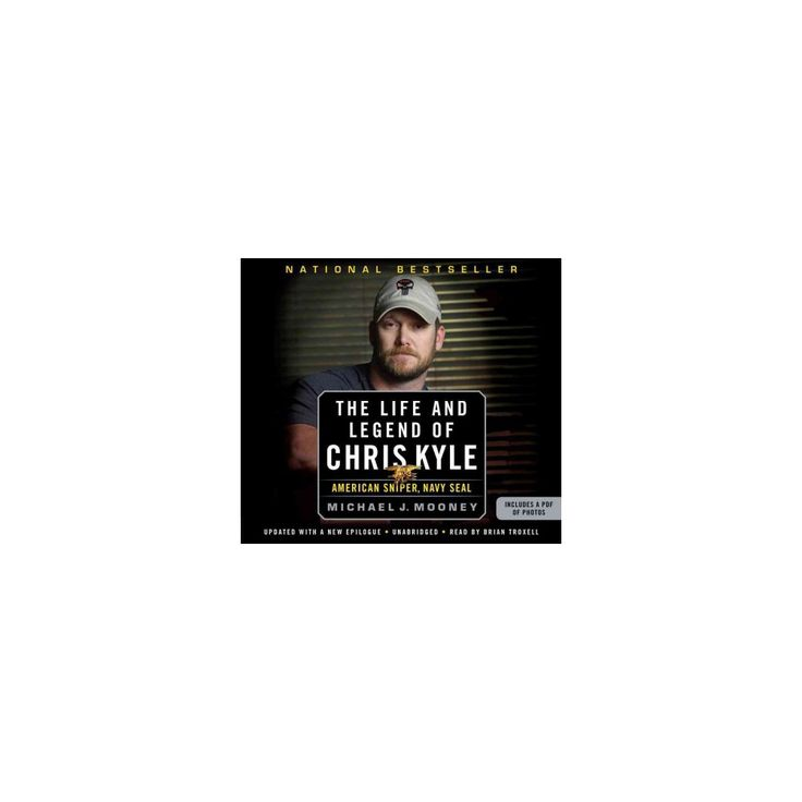 The Life and Legend of Chris Kyle (Unabridged, Updated) (Compact Disc)