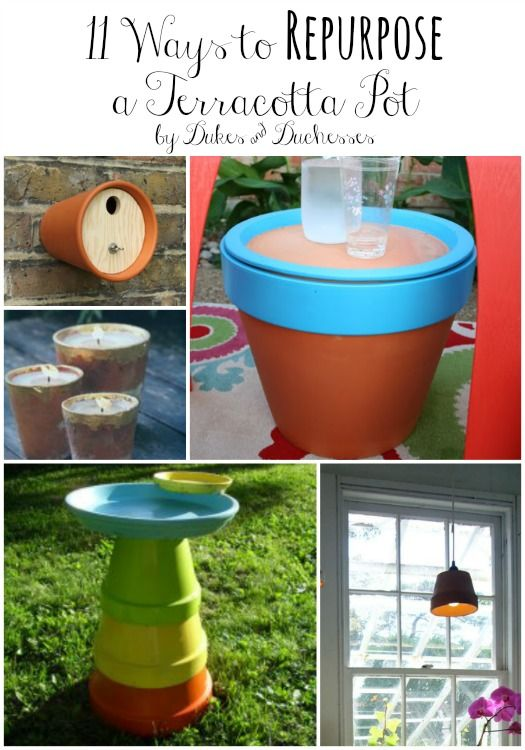 11 ways to repurpose a terracotta pot