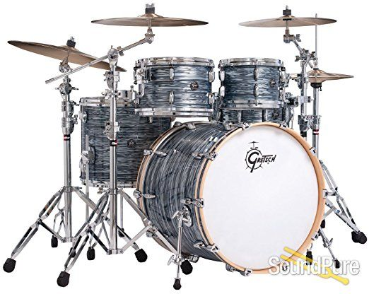 Gretsch Drums Renown 5pc Shell Pack Drum Workshop Cb Set Percussion African For Sale Play 7 Piece Premier