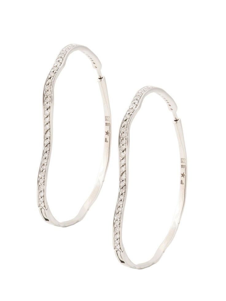 Image Result For Cool Diamond Hoops