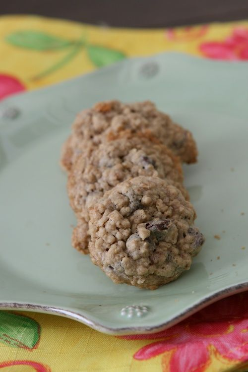 Oatmeal chocolate chip cookie recipe | Recipes | Pinterest