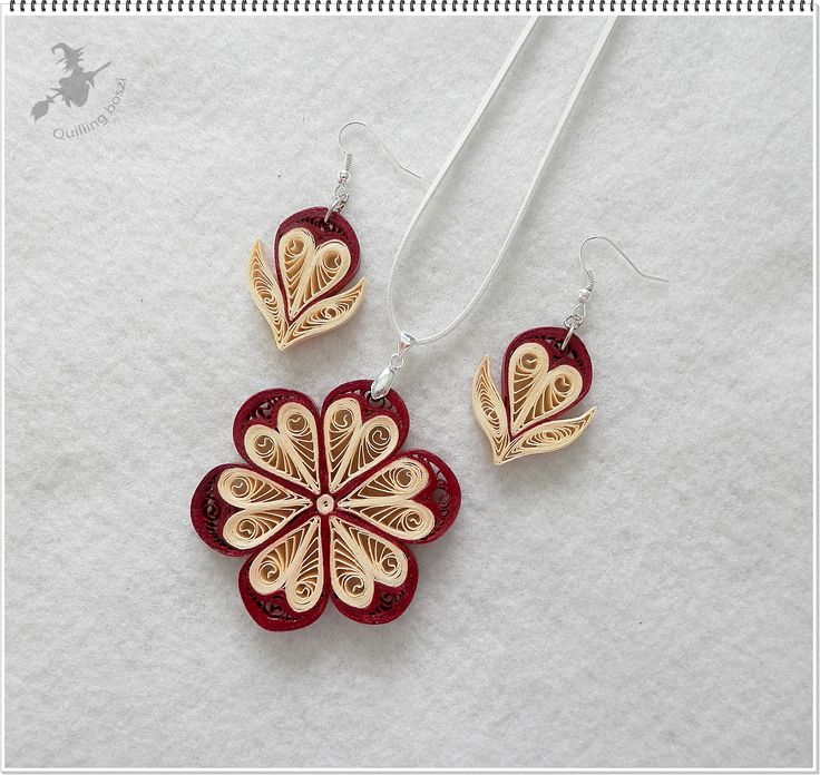 Quilling Papers Earrings: 1000+ Images About Quilling