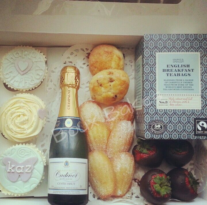 Champagne Afternoon Tea inspired cake selection