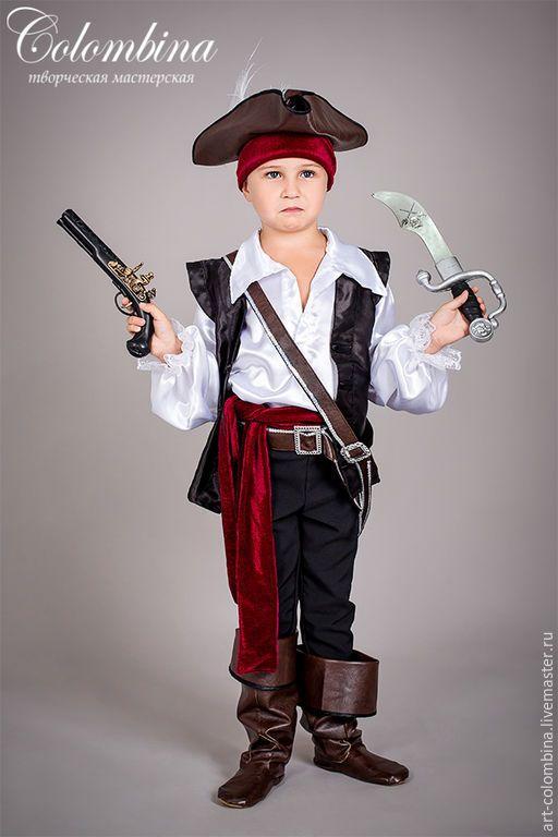 Купить Костюм пирата - черный, пират, Костюм пирата, карнавальные костюмы, маскарадные костюмы