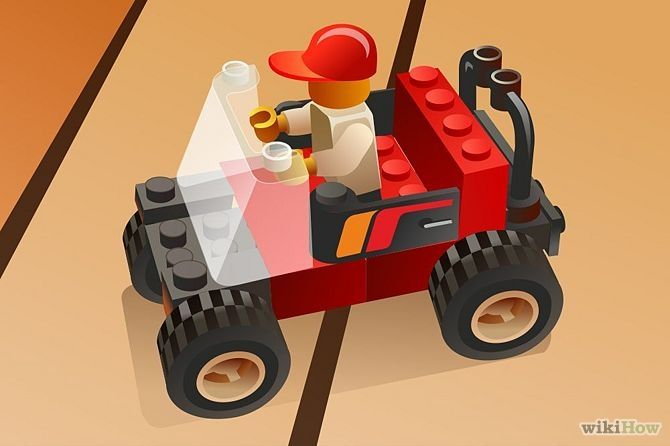 How to Build a LEGO Car: 6 Steps - wikiHow