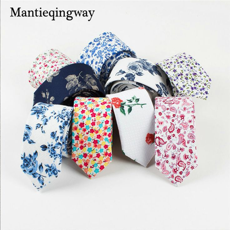 Vintage Cotton Floral Neck Tie //Price: $6.84 & FREE Shipping Over 180 countries //    #neckties