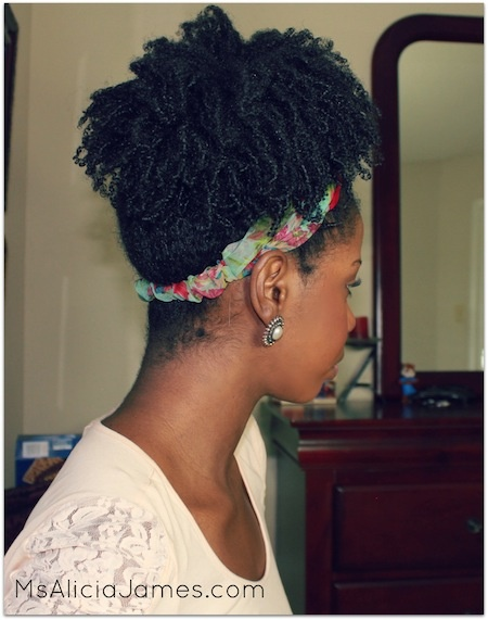 Alicia James // 4A/B Natural Hair Style Icon   Black Girl with Long Hair