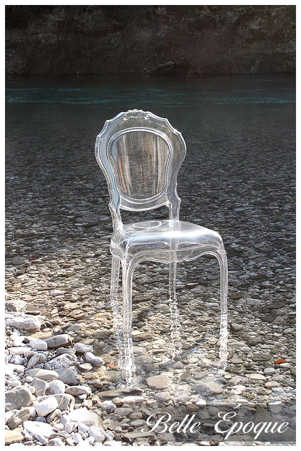 A Lovely Transparent Polycarbonate Italian Chair In Unconventional  Settings. All Pictures Were Taken In Cividale