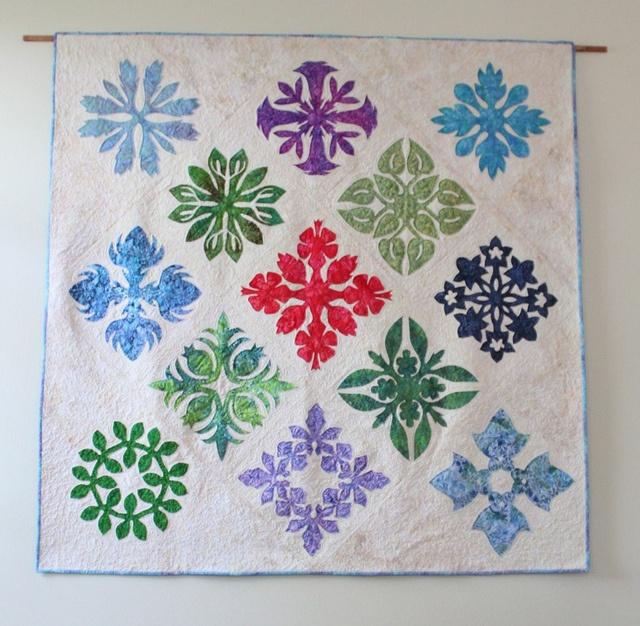 560 best Hawaiian Quilts images on Pinterest | Hawaiian quilts ... : hawaiian quilting techniques - Adamdwight.com