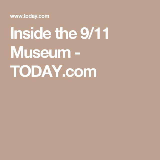 Inside the 9/11 Museum - TODAY.com