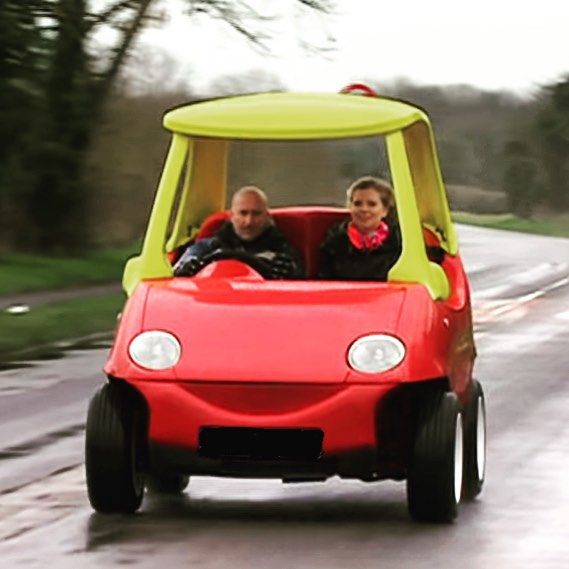 They're selling a Little Tikes replica car for $33000 on eBay?! Consider our bid in! #childhooddreamcometrue #littletikes #replicacar @officiallittletikes