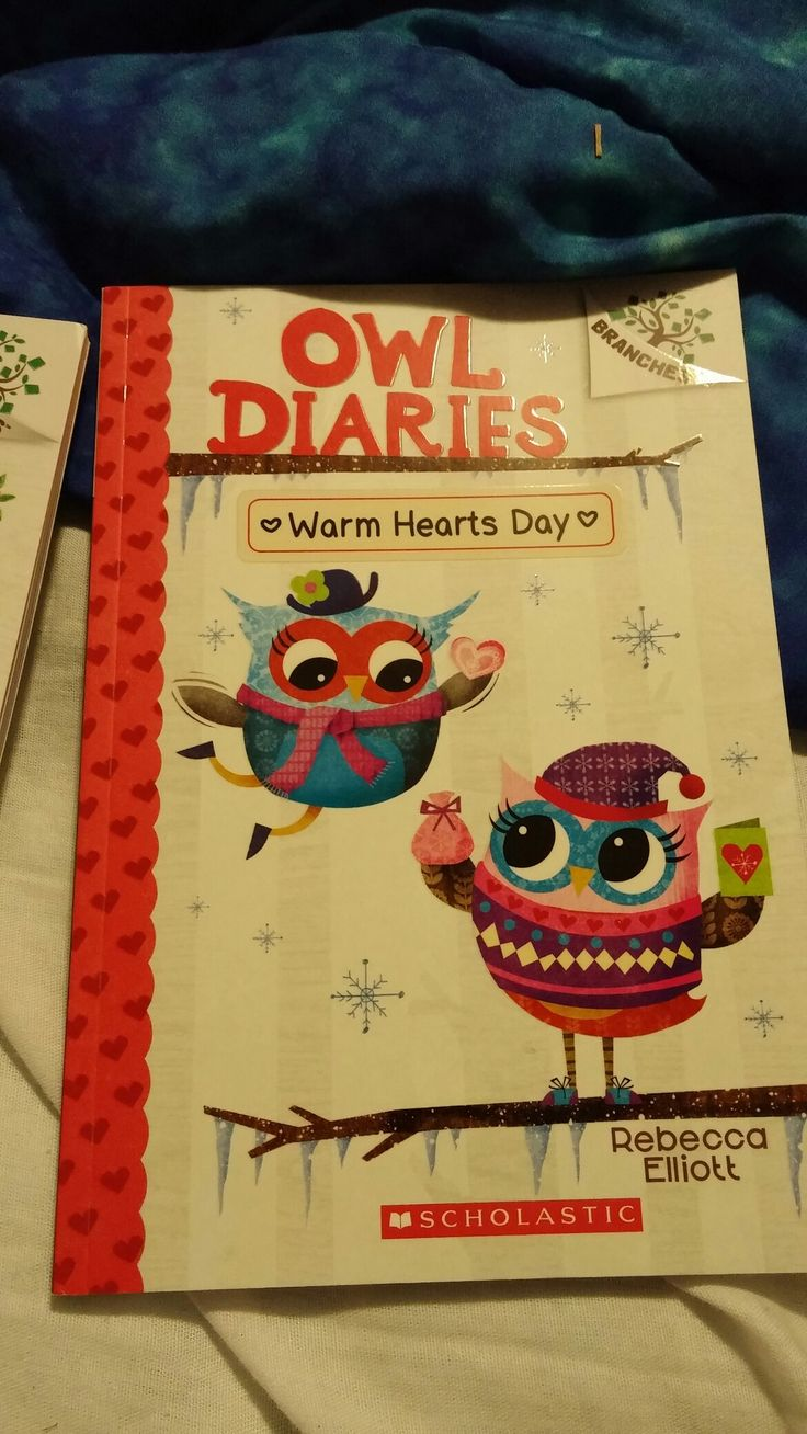 My Brand New Owl Diaries Book Warm Hearts Day That I Just Bought Today From Chapters/Indigo!☺❤