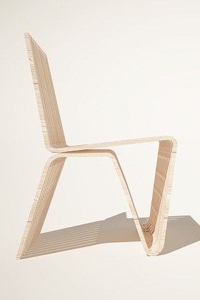 Plywood Chair by Ketarbuzova
