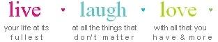 Laugh Live Love Cute Quotes | Life Myspace Quote Graphics - Myspace Quotes
