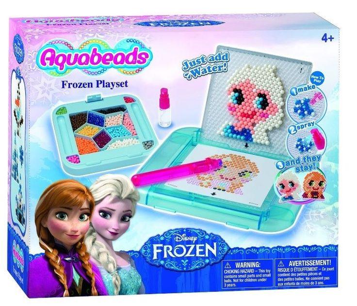 AquaBeads Disney Frozen Playset NEW Gift Popular 2015 Character Craft Toys New #AquaBeadsDisney