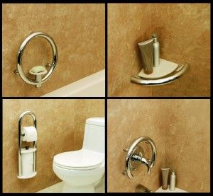 Decorative Grab Bar So Beautiful You Almost Get Distracted From Its Function