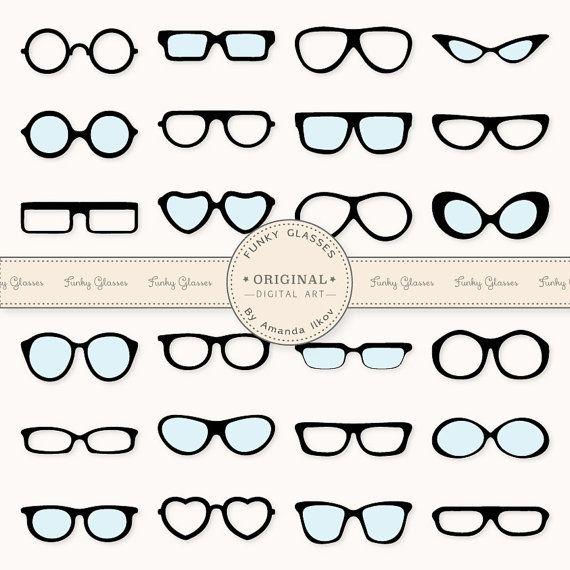 Large Professional DIY Photo Prop Glasses  Glasses by AmandaIlkov