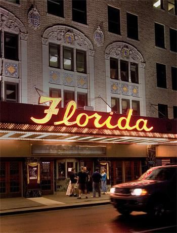 Built in 1927, the Florida Theatre is the largest movie palace in Jacksonville and one of only four movie palaces of the era still operating in Florida.