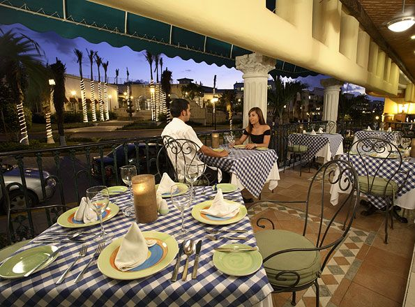 Il Pescatore restaurant.  Courtesy Real Resorts