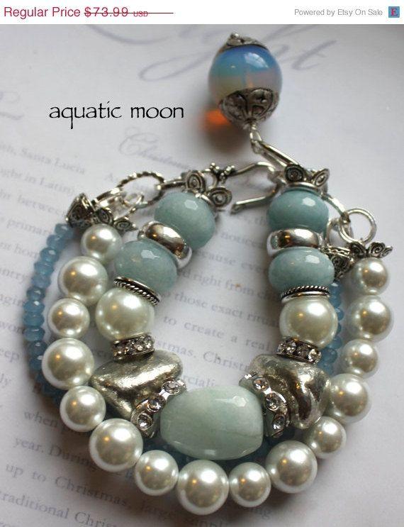 Chunky beads w/pearls