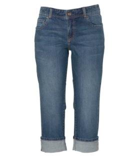 Just Jeans - Womens - Denim Jeans - Envy Cuff 3/4 Jean - Indigo