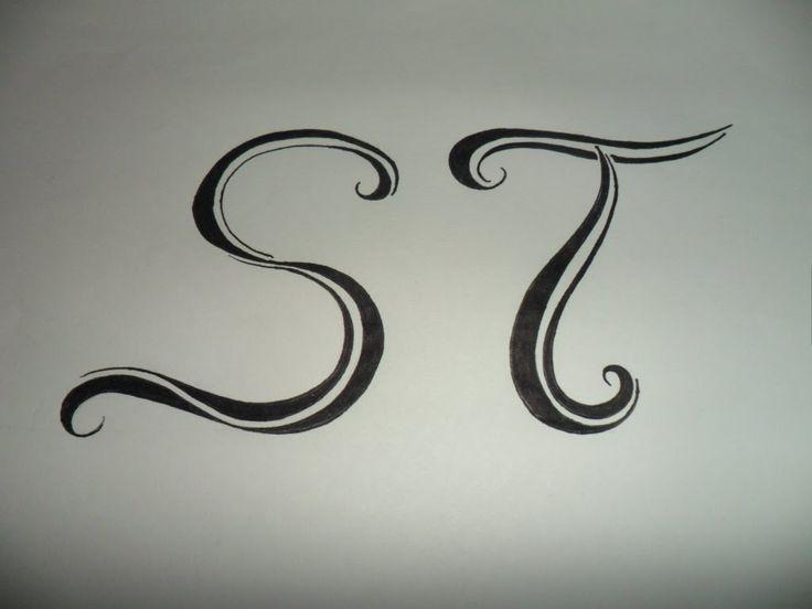 Letras Tribales S y T. Bases sencillas para crear y dibujar letras triba...