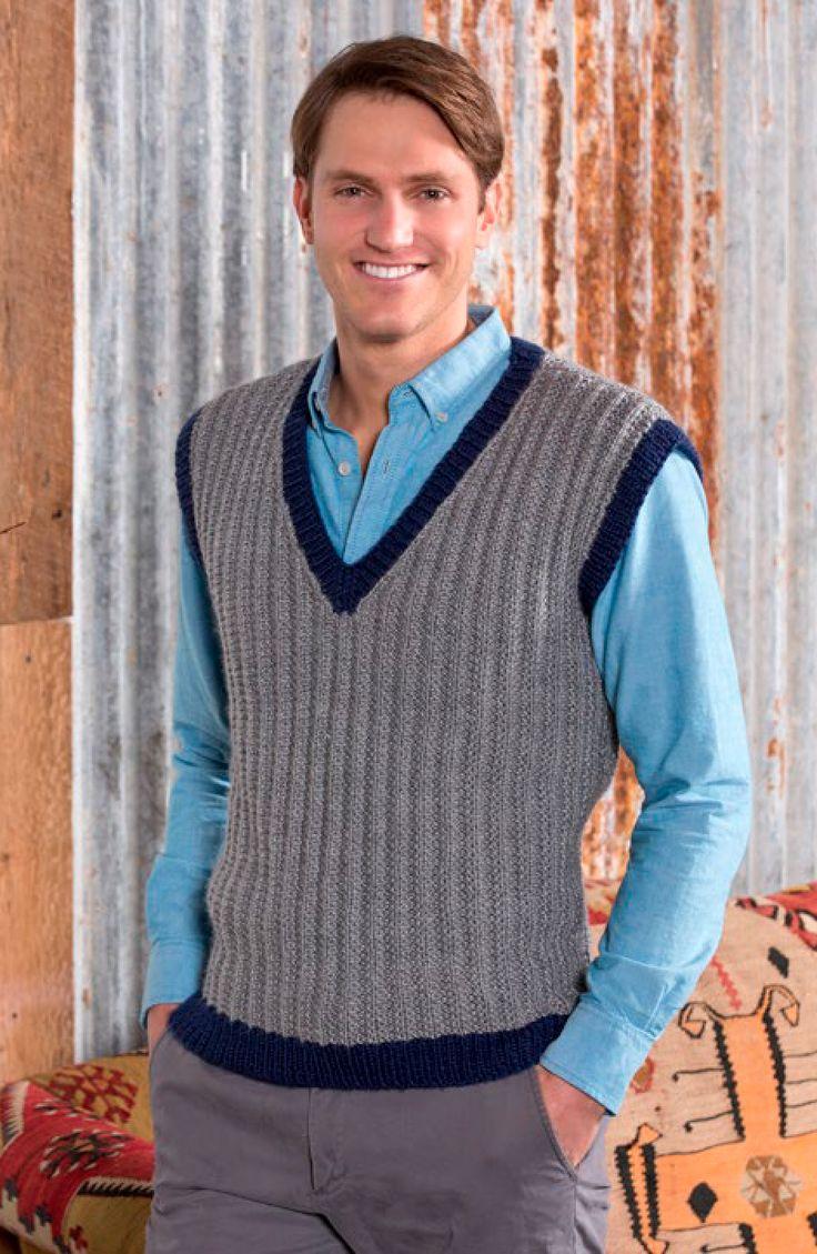 Tu chico especial disfrutará un cálido abrigo extra mientras luce muy guapo en este chaleco sólo para él. El patrón para este mismo chaleco estilo clásico para un pequeño caballero está también...