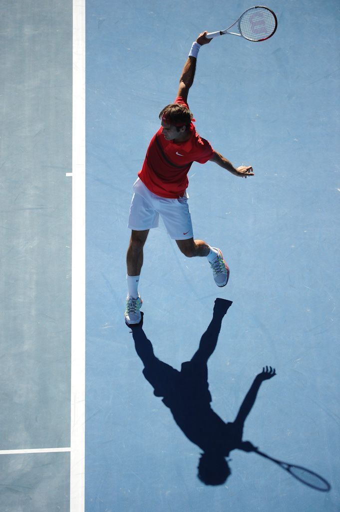Federer has the most elegant backhand I've ever seen in tennis.