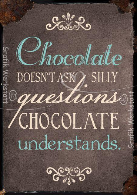 Chocolate - Postkarten - Grafik Werkstatt Bielefeld