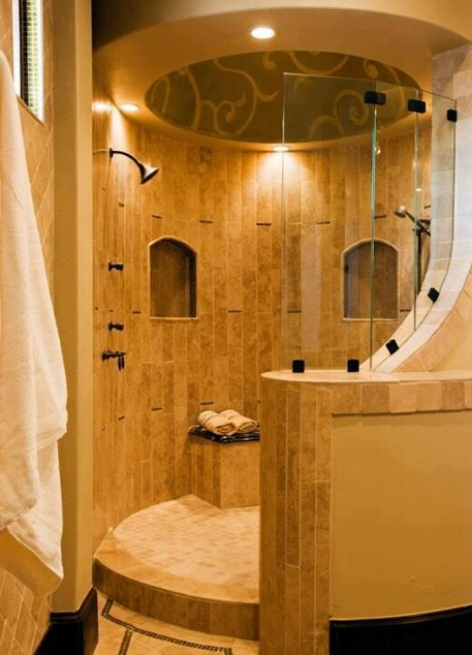 nice shower - Luxury Open Showers