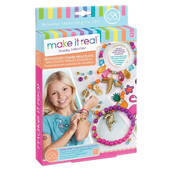 Make It Real Bedazzled Charm Bracelets Graphic Jungle Diy