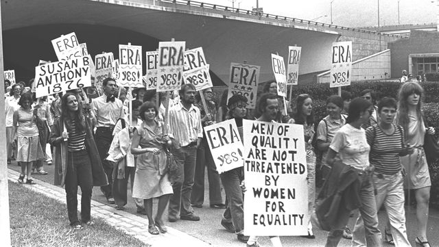 Top Feminist Organizations of the 1970s: ERA Protest in Pittsburgh, 1976