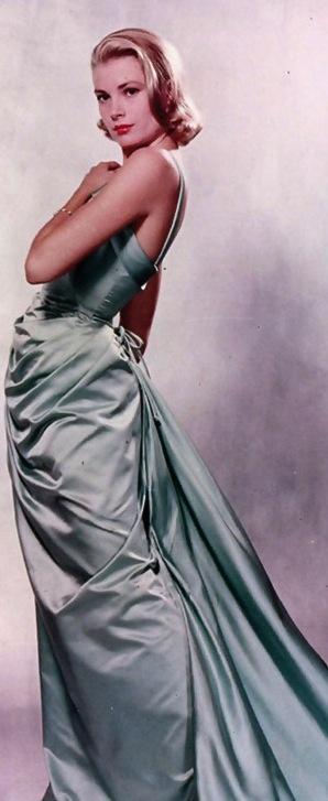 Grace Kelly's Oscars gown, 1955.