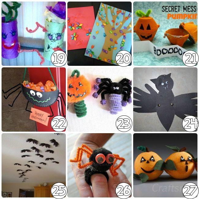 75 Halloween Craft Ideas for Kids