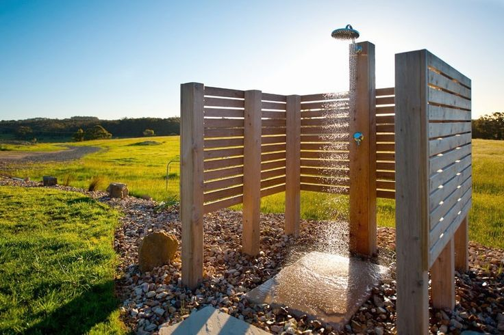 Nothing beats the view from this outdoor shower! #outdoors #holidayrentals #bathrooms