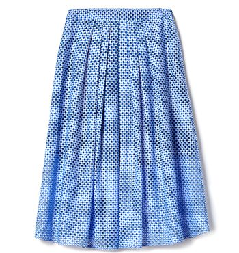 MARCS | Skirts - PLEATED LACE FULL SKIRT ($199)