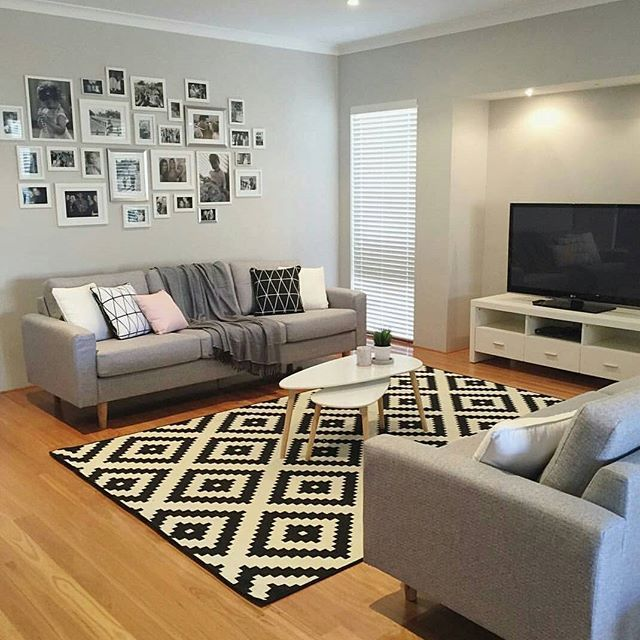 I've been wanting to create a photo wall like @my_home_14 has created for a very long time. Thank you so much for the inspo. I also spot some great @kmartaus goodies which are the coffee tables and cushions. I also love that rug from @ikea_australia thank you so much for sharing your beautiful lounge with us Jo #addictedtokmart #kmartaddict #kmartaus #kmart #ikeaaustralia #ikea #addictedtobargains #shoppingaddict #homestyling #homedecor #coffee #table #cushions #rug