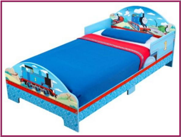 Thomas And Friends Wooden Bed Just Simple And Nice