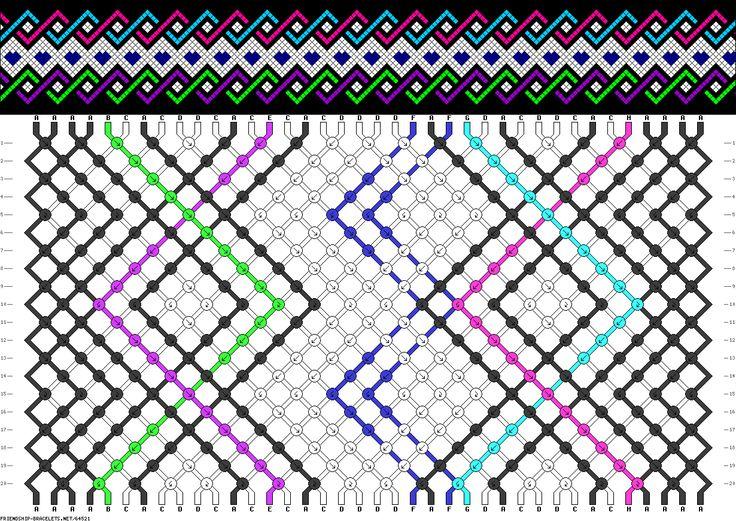 38 strings, 20 rows, 8 colors