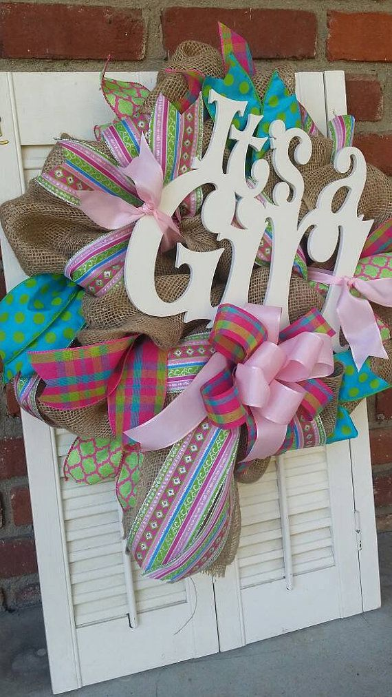 wreaths ideas on pinterest baby hospital wreath baby shower wreaths