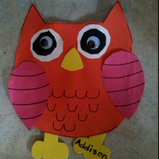Addison's Owl - Kindergarten