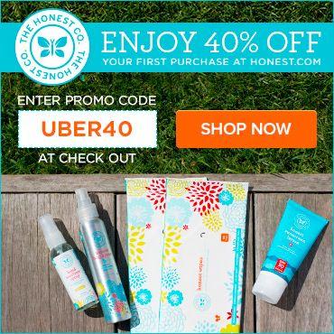 Honest Company Coupon! Save 40%! - http://mommysplurge.com/2014/07/new-honest-company-coupon/