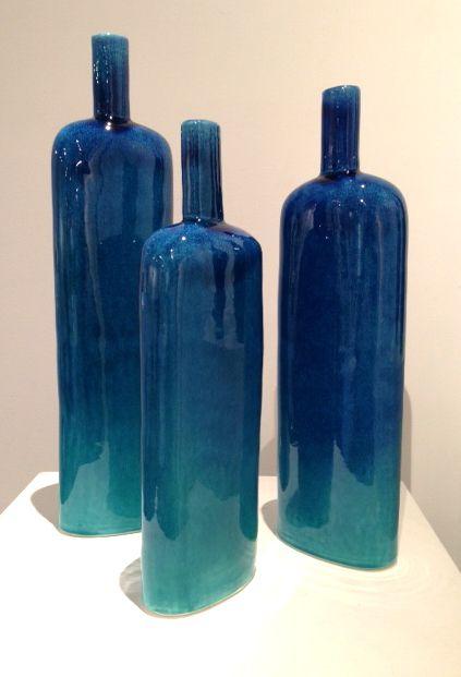 Graham Ambrose - Wanaka Glaze Long Bottles - ceramic