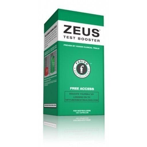 Fusion Bodybuilding ZEUS 120 Caps Test Booster Men's Strength Recovery Libido #FusionBodybuilding