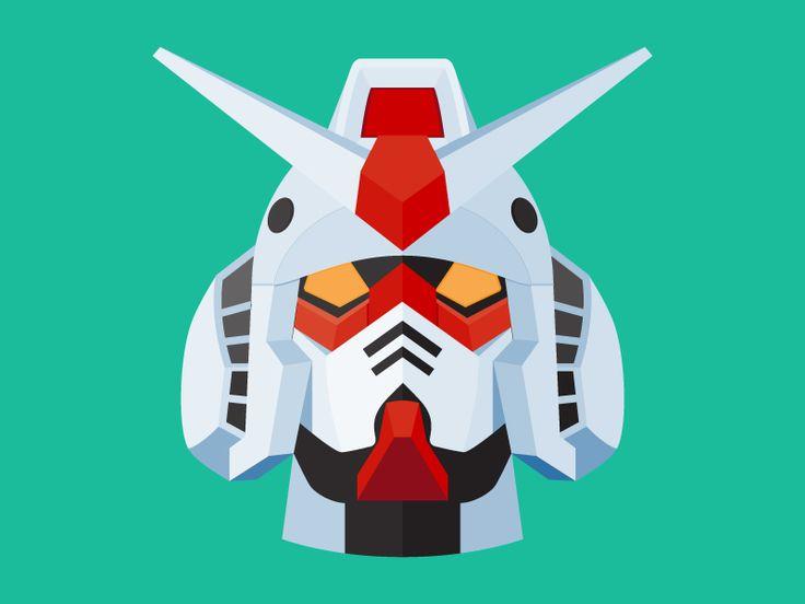 Gundam Flat by Gianluca Gentile