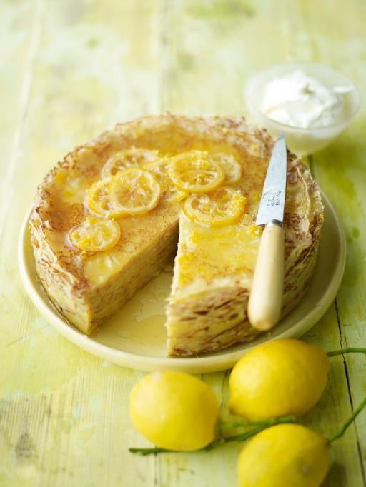 lemon crêpe cake | Jamie Oliver | Food | Jamie Oliver (UK)
