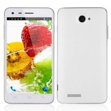 N9700 Smartphone Android 4.2 MTK6582 Quad Core 5.0 Inch 1GB 4GB 3G OTG GPS White