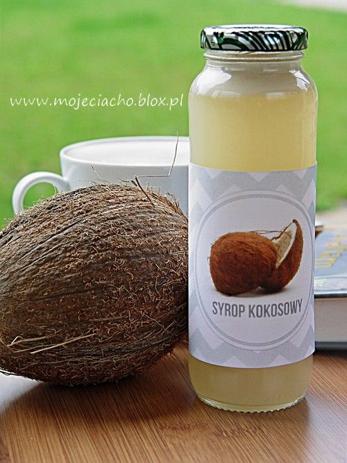 Syrop kokosowy