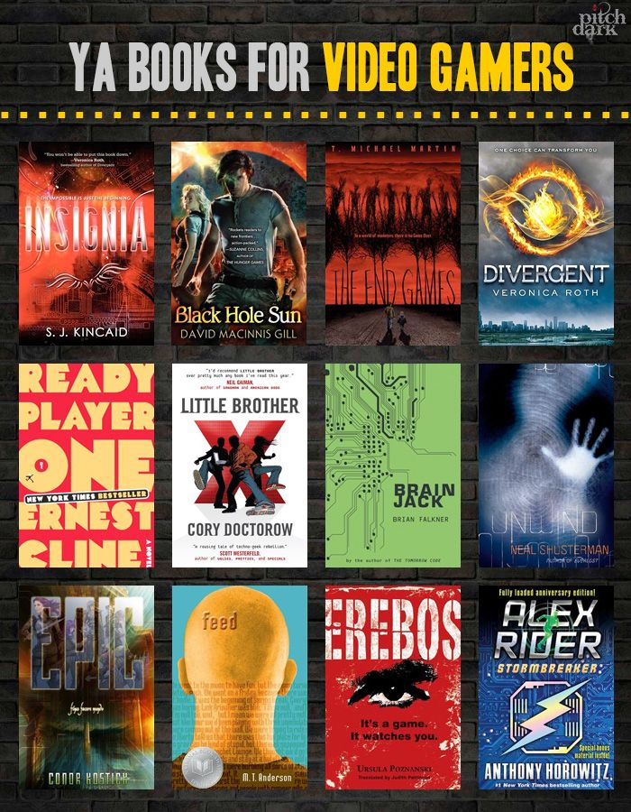"YA Books for Video Gamers - definitely true that many of these appeal to my high school ""gamers."""