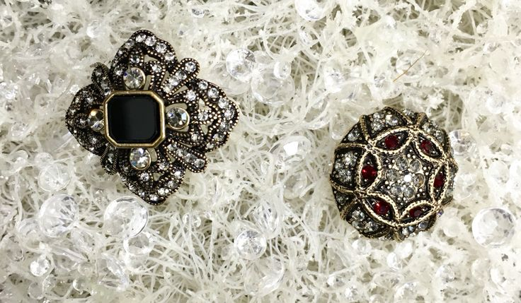 Brooches by Miss Accessories